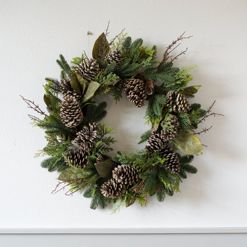 Winter Evergreen Wreath