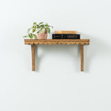 Wood Scalloped Edge Shelf
