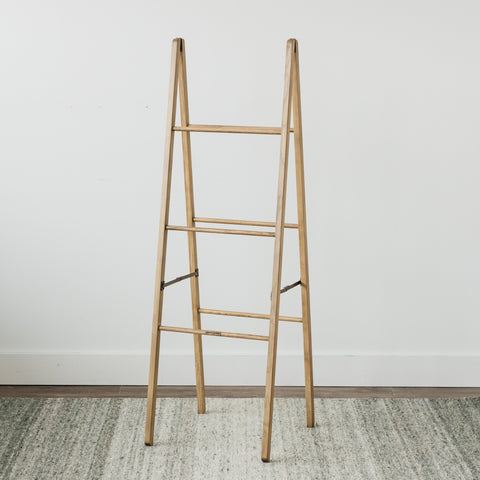 Wallace Standing Wooden Ladder