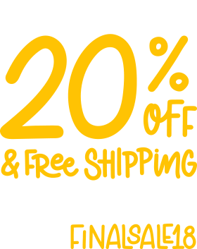 20% Off & Free Shipping with Orders over $75