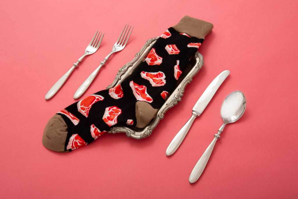 Prime Cut Socksmith Mens Food Socks