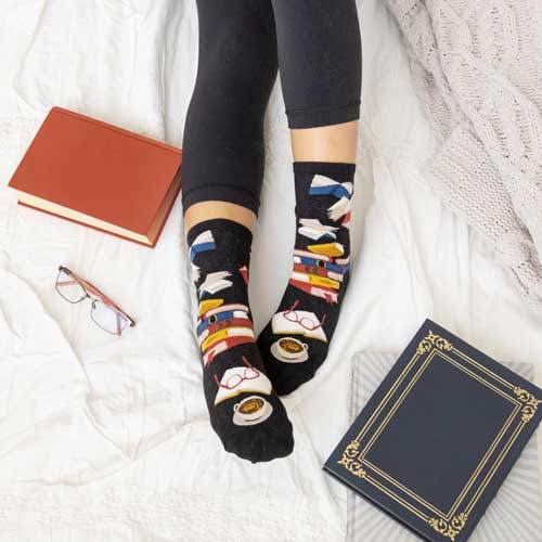 See our collection of fun women's socks
