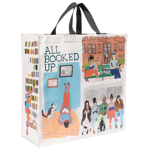 All Booked Up Large Tote Bag