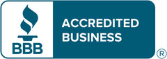 Better Business Bureau accreditation seal