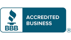 Better Business Bureau accreditation badge