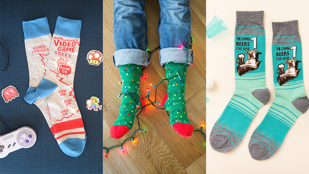 Best sock gifts for men this holiday season!
