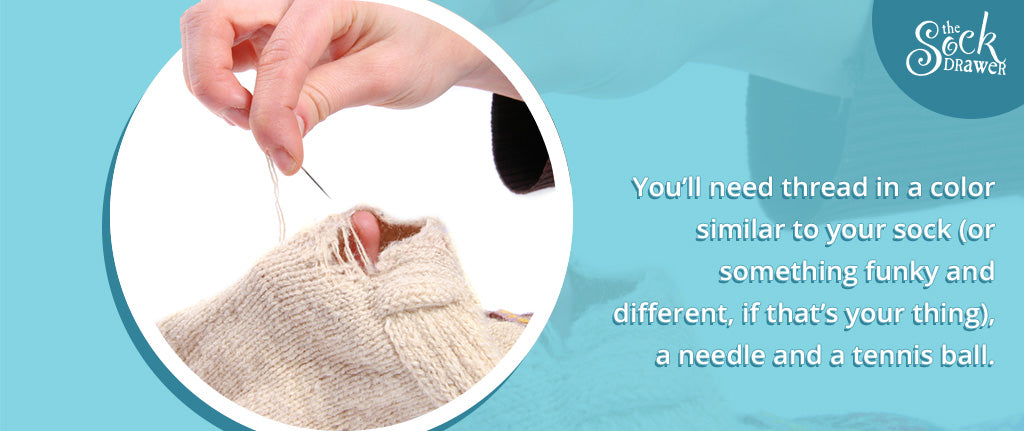 Fixing your old socks