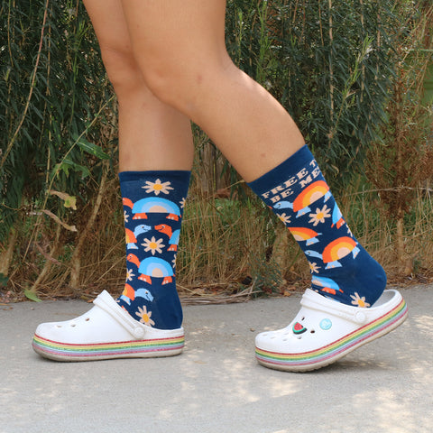 Free To Be Me socks for women