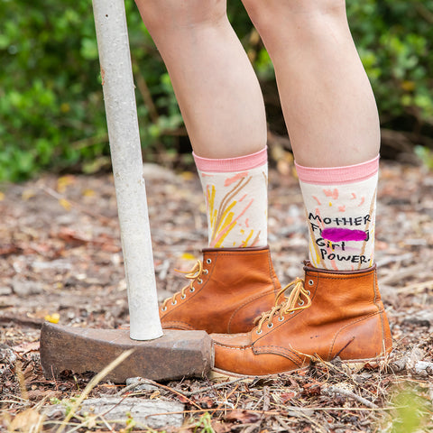 Girl Power socks for women