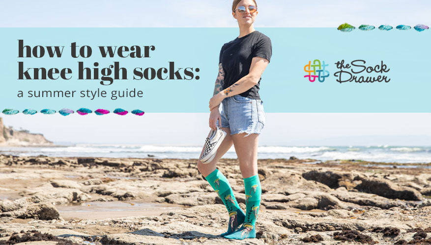 How to Wear Knee High Socks A Summer Style Guide