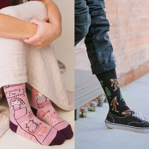 Awesome socks for introverts!