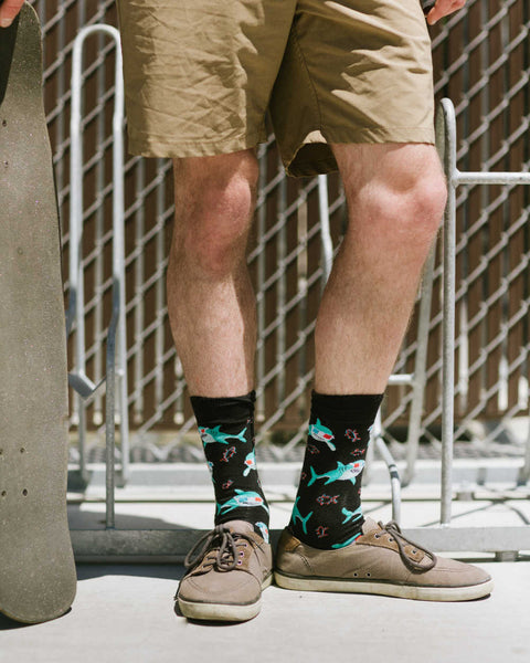 Jawsome socks for men