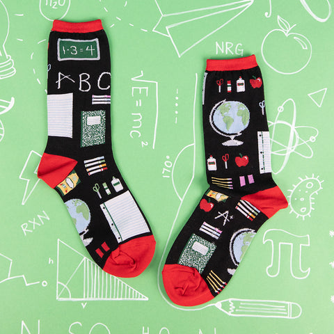 Study Buddies socks for women