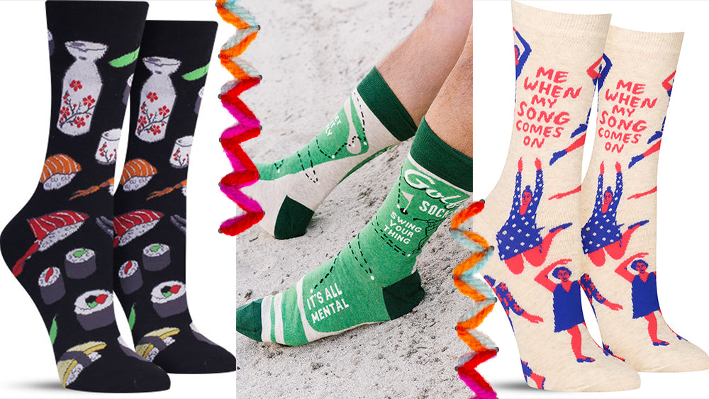 we love these awesome socks and you should, too!