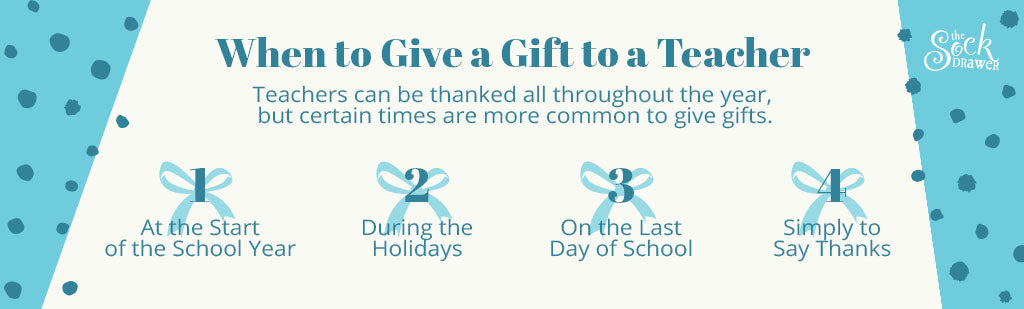 When to Give a Gift to a Teacher