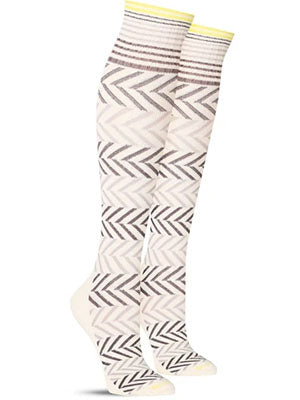 chevron compression socks pair