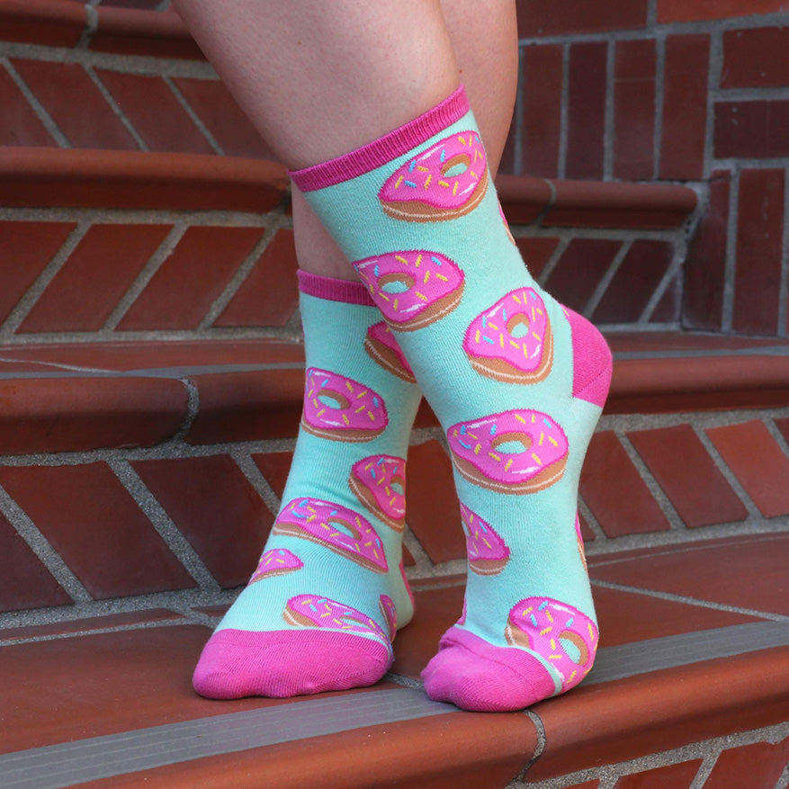 donuts cool food socks