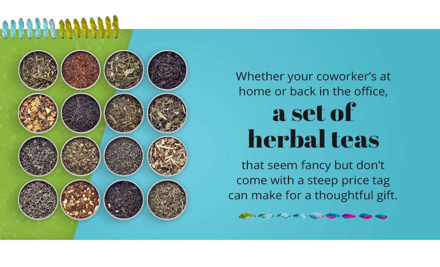 herbal teas thoughtful gift graphic