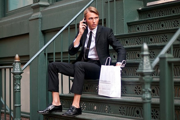 No Socks with a Suit? For Real?