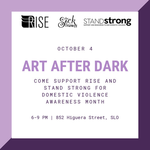 Art After Dark, Friday, Oct. 4, 6-9 p.m. at The Sock Drawer