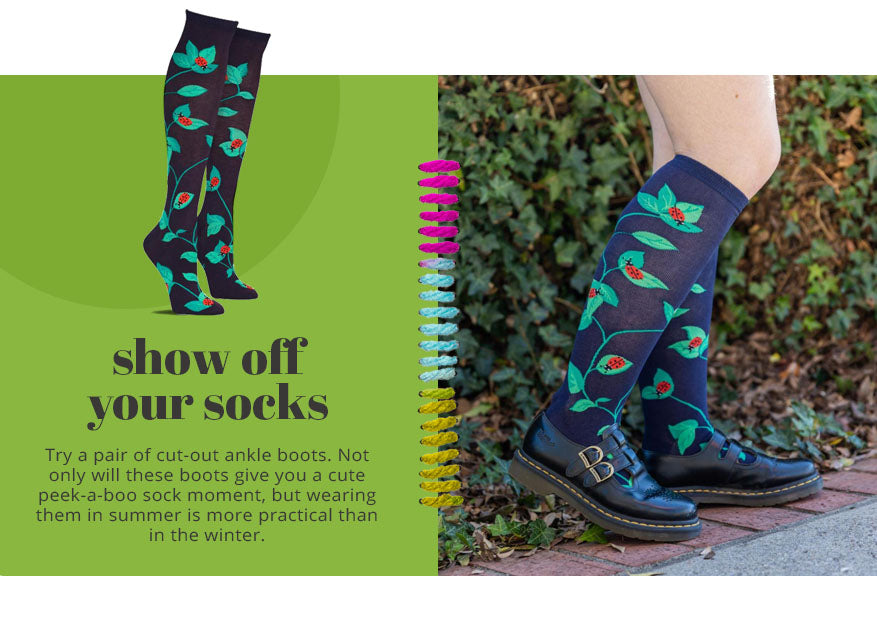 show off your socks