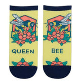 Cute women's ankle socks with bees