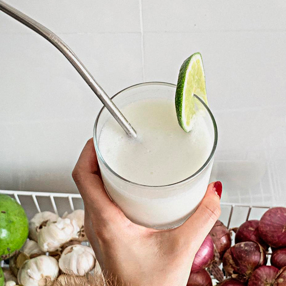KETO  VEGAN  SUGAR FREE CREAMY COCONUT LEMONADE