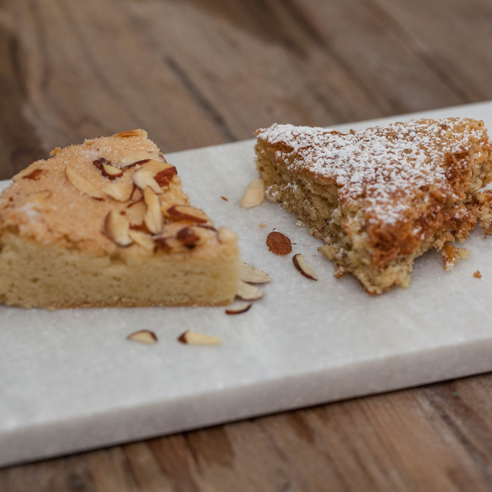 The Tale of Two Almond Cakes