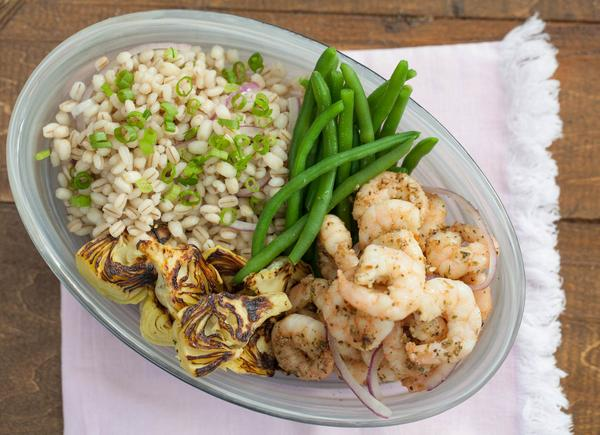 Lime and Garlic Shrimp Street Bowl