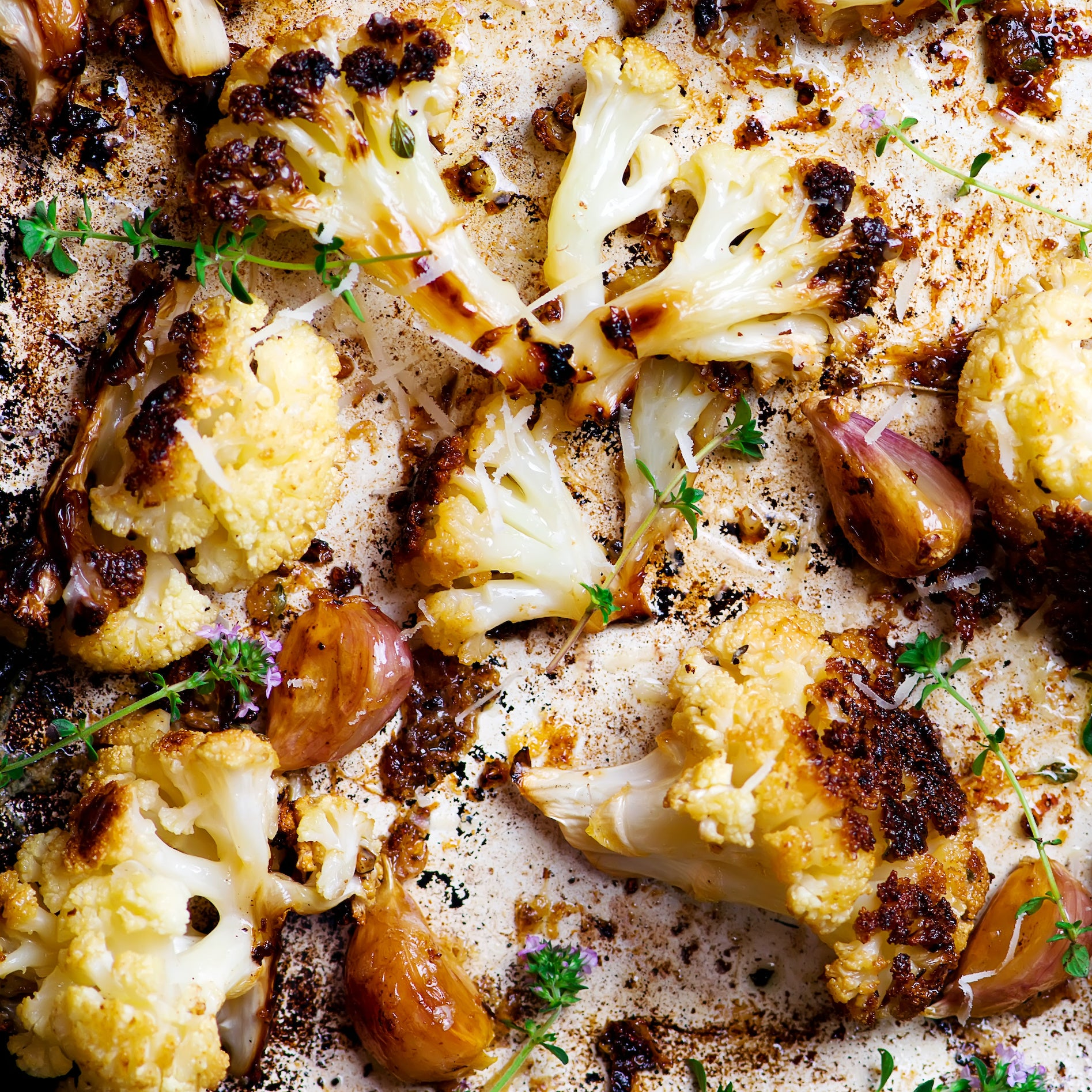 Roasted Cauliflower with Capital Heights Spice