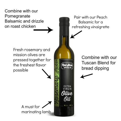 Five Ways: Rosemary Extra Virgin Olive Oil