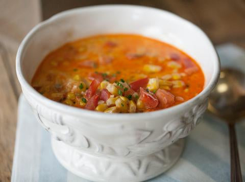 Smoky Corn Soup