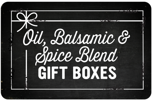 Oil, Balsamic & Spice Blend Gift Boxes