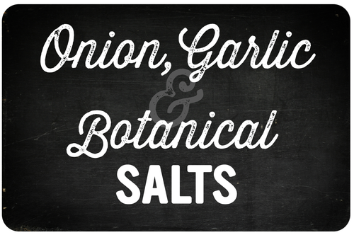 Onion, Garlic & Botanical Salts