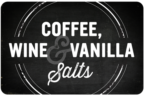 Coffee, Wine, Vanilla Salts