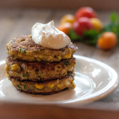 Smoky Corn Fritters