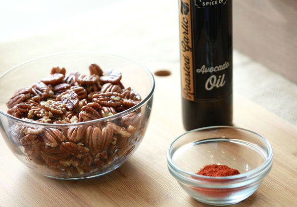 Berbere Spice Pecans Ingredients