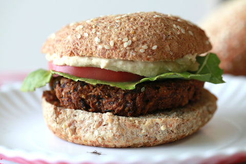 Smoky Black Bean Vegan Veggie Burger Recipe
