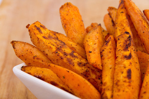Dark La Mesa Sweet Potato Fries Recipe