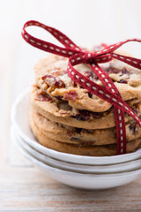 White Chocolate, Tart Cherry, Macadamia Nut Cookies