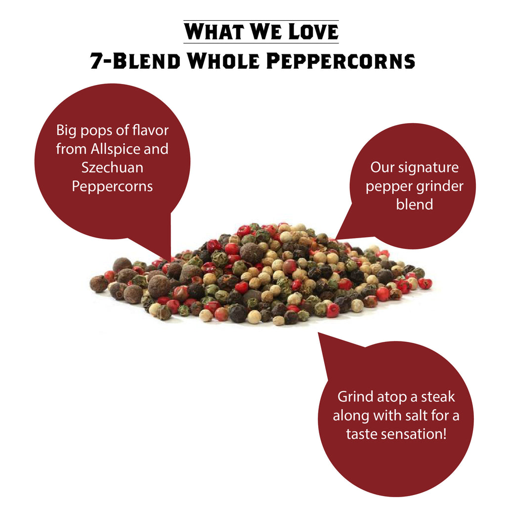 What We Love - 7 Blend Peppercorns