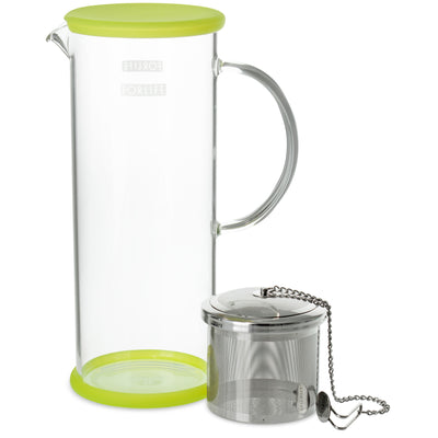 FORLIFE Lucent Tea Jug with Capsule Infuser