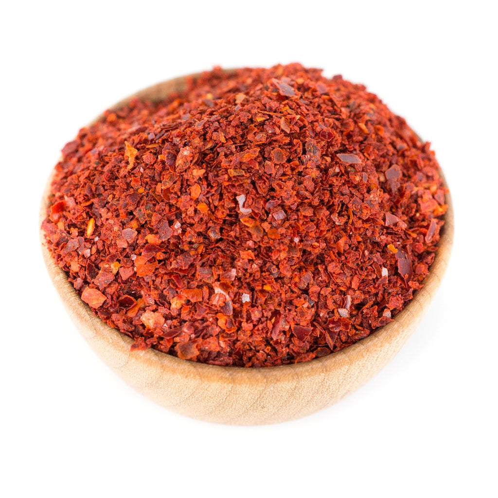 Marash chile flakes red stick spice company for Chili flakes