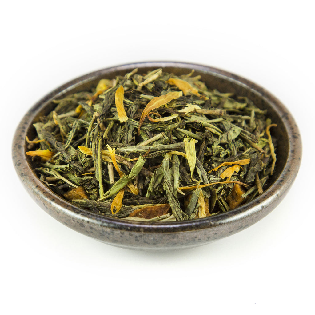 Figgy Pudding Green Tea - Tea - Red Stick Spice Company