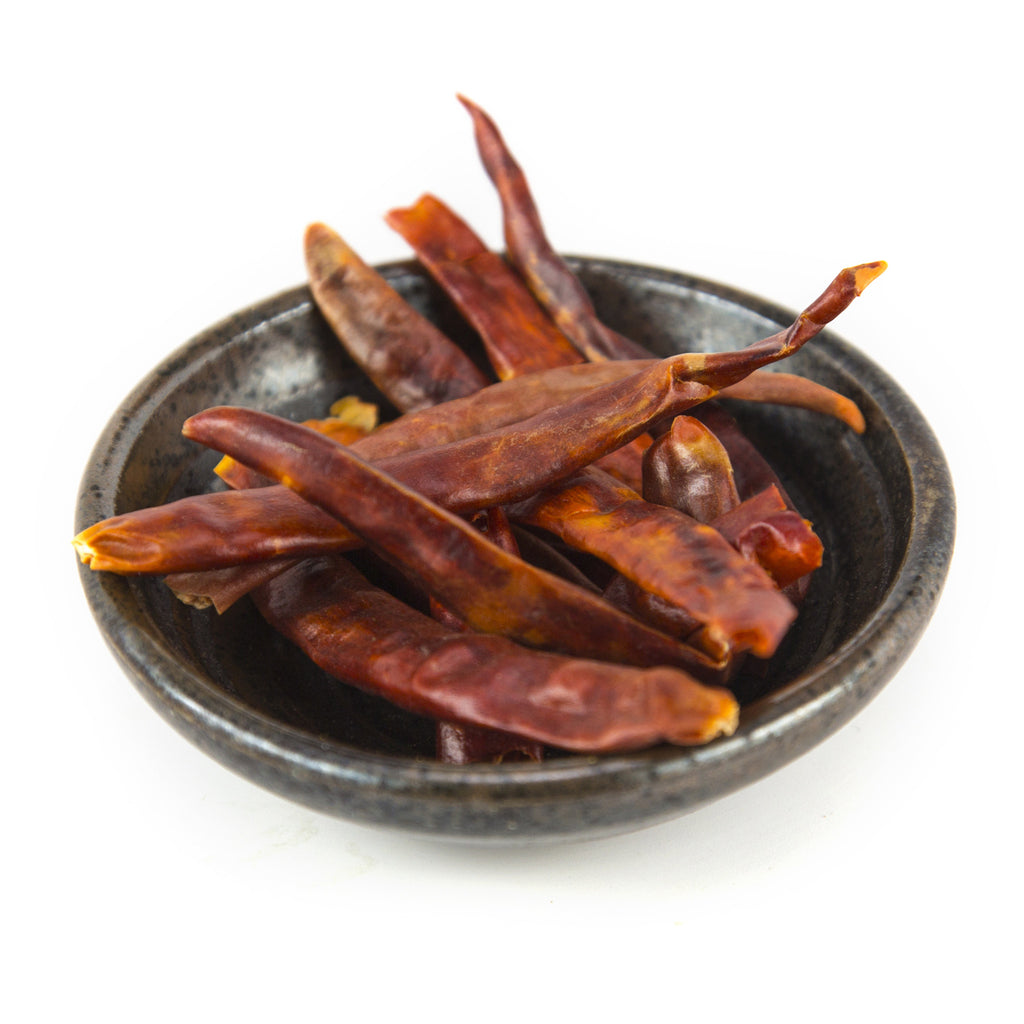 Chile de Arbol, Whole - Chile Pepper - Red Stick Spice Company
