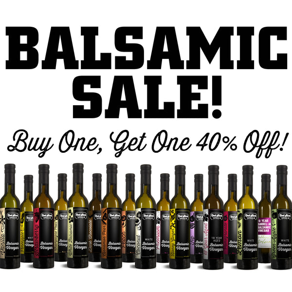 Buy One, Get One 40% Off: Olive Oil & Balsamic - Premium_Balsamic Vinegar - Red Stick Spice Company
