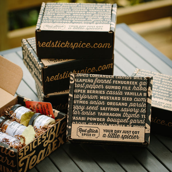 World Tour Spice Blend Box - Gift Boxes - Red Stick Spice Company