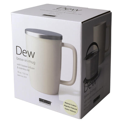 Dew Mug with Infuser & Lid 18oz - Teaware - Red Stick Spice Company