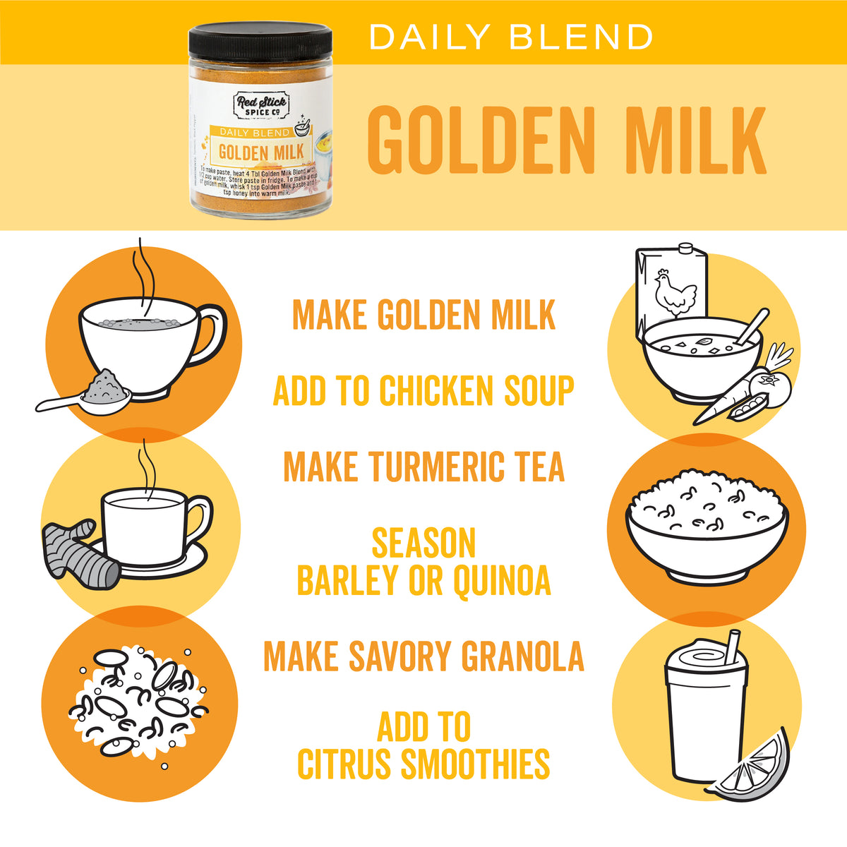 Golden Milk Daily Blend