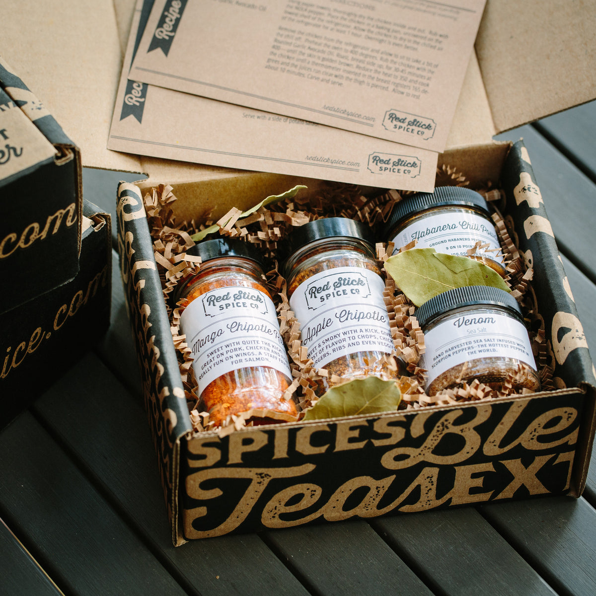 Hot Stuff Gift Box - Gift Boxes - Red Stick Spice Company